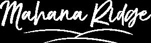 Mahana Ridge Logo Full White (1)